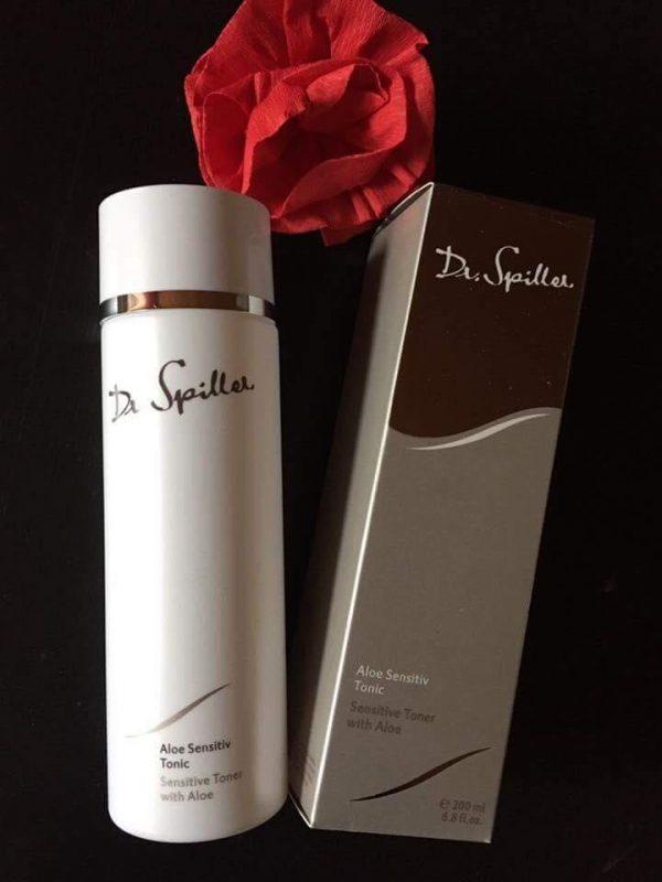 DR SPILLER SENSITIVE TONER WITH ALOE - Nước cân bằng chiết xuất lô hội dành cho da nhạy cảm