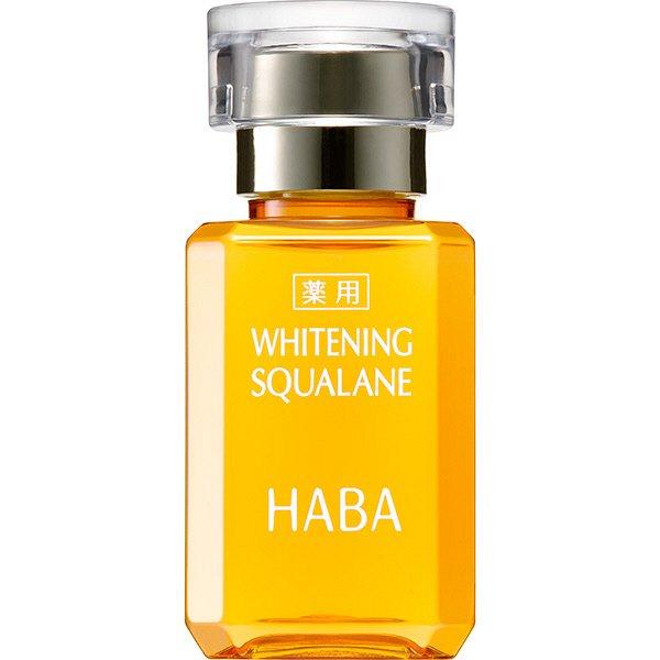 Dầu dưỡng ẩm và làm sáng da vượt trội Haba Whitening Squalane 30ml Nhật Bản