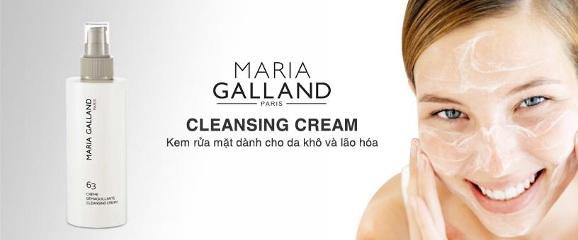 Maria Galland Cleansing Cream - Kem rửa mặt dành cho làn da khô và lão hóa