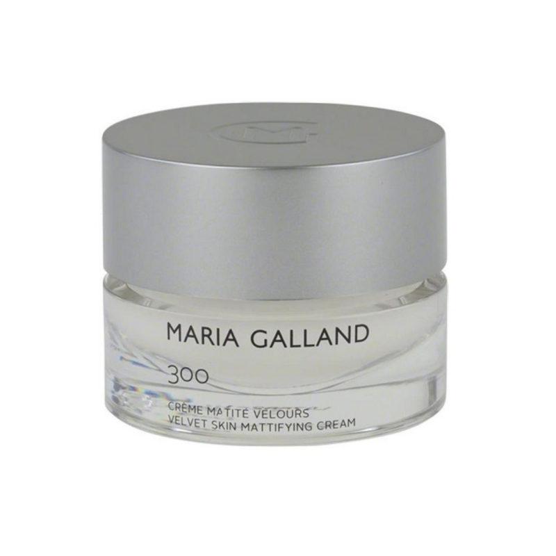 Maria Galland Velvet Skin Mattifying Cream 300 - Kem dưỡng cân bằng da ngày và đêm dành cho da hỗn hợp, da dầu đến từ Pháp