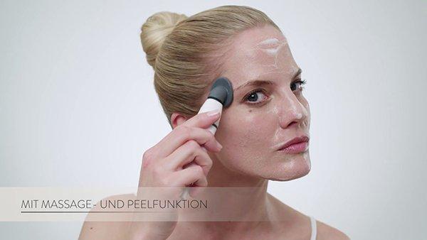 Máy rửa mặt Silicone Cleansing Brush Int làm sạch sâu làn da gấp 8 lần so với cách rửa mặt thông thường