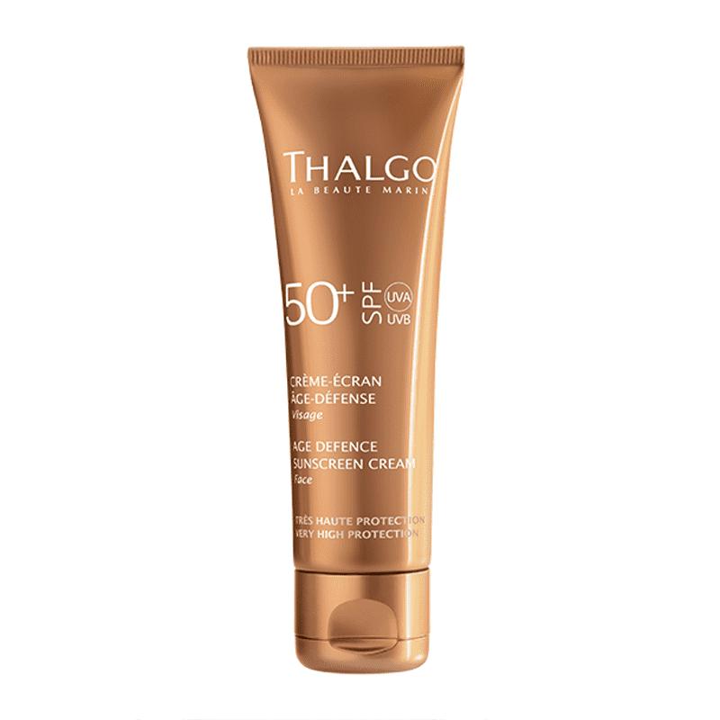 Thalgo Age Defence Sunscreen Cream SPF50+ 50ml - Kem chống nắng dành cho da nhạy cảm Pháp