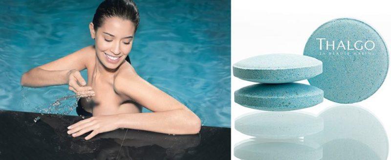 Mọi căng thẳng mệt mỏi gần như tán biến, làn da được hồi sinh mềm mịn, sáng khỏe tràn đầy sức sống với viên sỏi tắm sủi bọt Thalgo Lagoon Water Bath Pebbles.