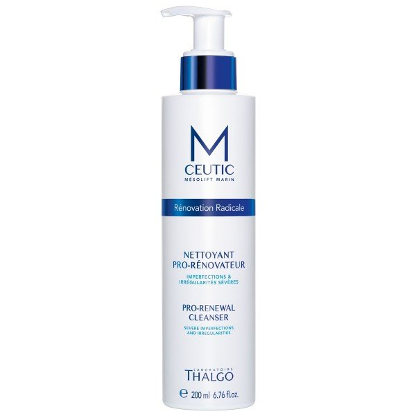 Thalgo MCEUTIC Pro-Renewal Cleanser – Mousse rửa mặt và tẩy tế bào chết