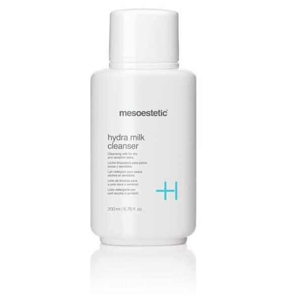 Sữa rửa mặt Mesoestetic Hydra Milk Cleanser 200ml Tây Ban Nha – Khơi dậy sức sống tươi mới cho da