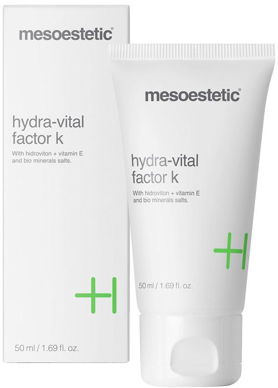 Kem dưỡng ẩm, làm sáng da Mesoestetic Hydra Vital Factor K 50ml – Tây Ban Nha