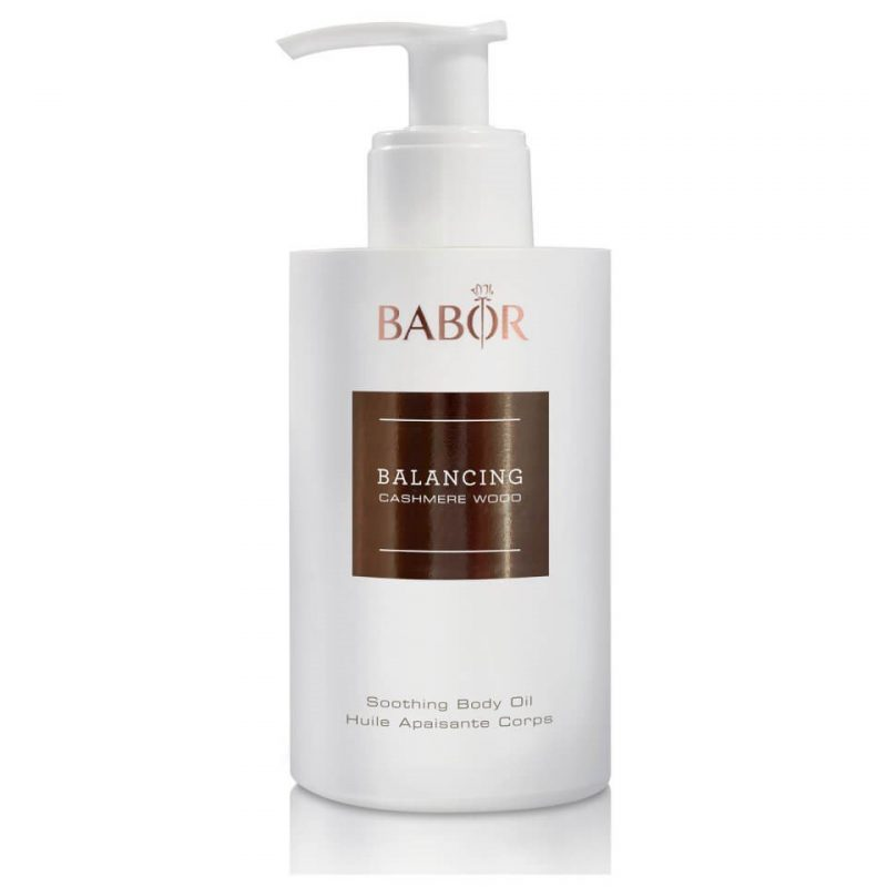 Dầu dưỡng thể Babor Balancing Cashmere Wood Soothing Body Oil