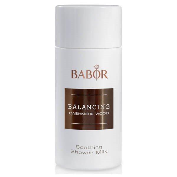Sữa tắm hương gỗ làm mềm da Babor Balancing Cashmere Wood Soothing Shower Milk