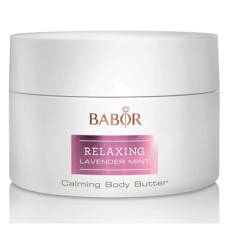 Kem dưỡng ẩm, chống lão hóa da toàn thân Babor Relaxing Lavender Mint Calming Body Butter
