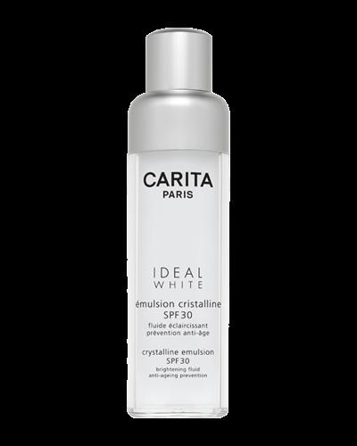 Sữa làm trắng ngăn ngừa lão hóa Carita Ideal White Cristalline Emulsion SPF 30