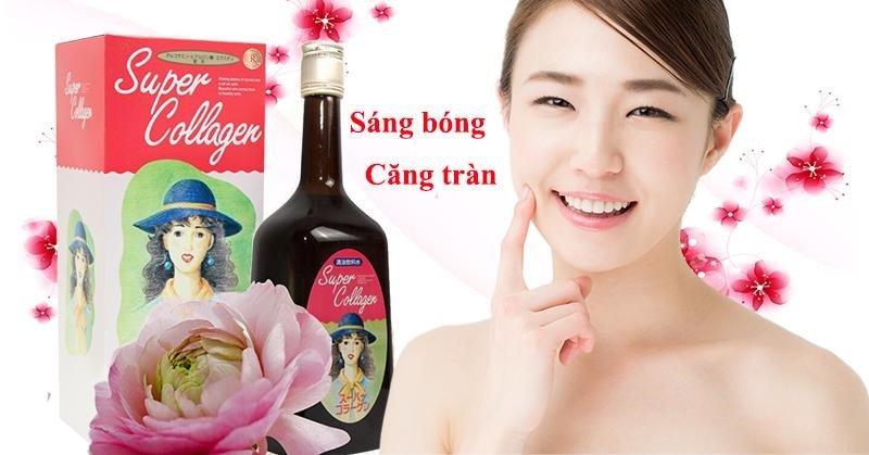 Sử dụng collagen thường xuyên sẽ giúp làn da khỏe mạnh và tươi sáng hơn.