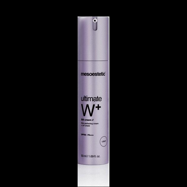 Kem trang điểm, dưỡng trắng da Mesoestetic Ultimate W+ Whitening BB Cream SPF50 50ml – Tây Ban Nha
