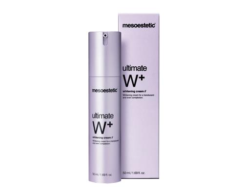 Kem dưỡng trắng, trẻ hóa da Mesoestetic Ultimate W+ Whitening 50ml bán chạy số 1 tại Tây Ban Nha
