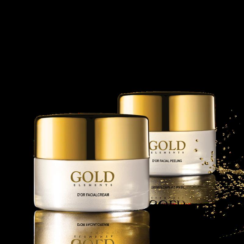 Gold Elements D'or Facial Cream - Kem dưỡng cấp ẩm và phục hồi da