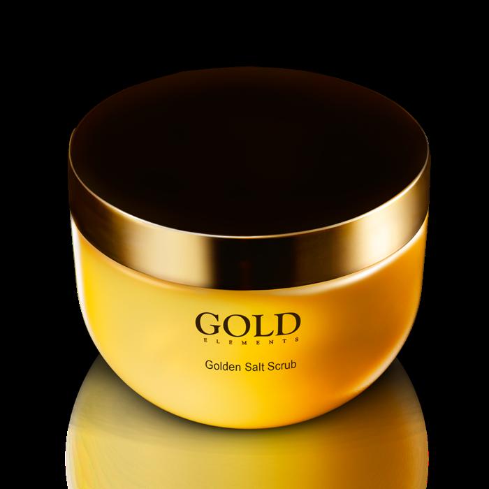 Gold Elements Golden Salt Scrub Supreme - Muối tắm tẩy tế bào chết toàn thân