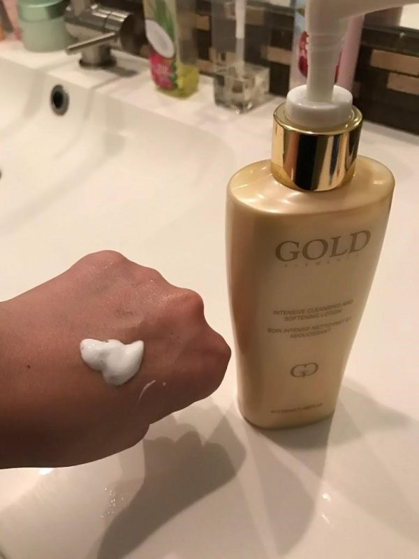 Gold Elements Intensive Cleansing and Softening Lotion - Lotion làm sạch và mềm da