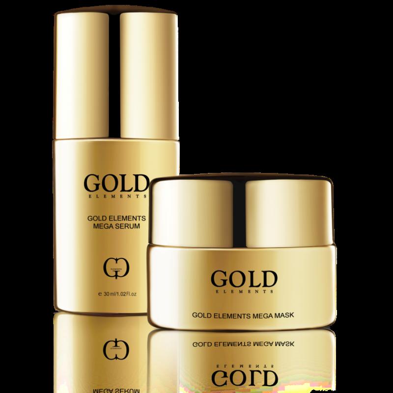 Gold Elements Mega Mask - Mặt nạ trẻ hóa da và trị liệu đa công dụng