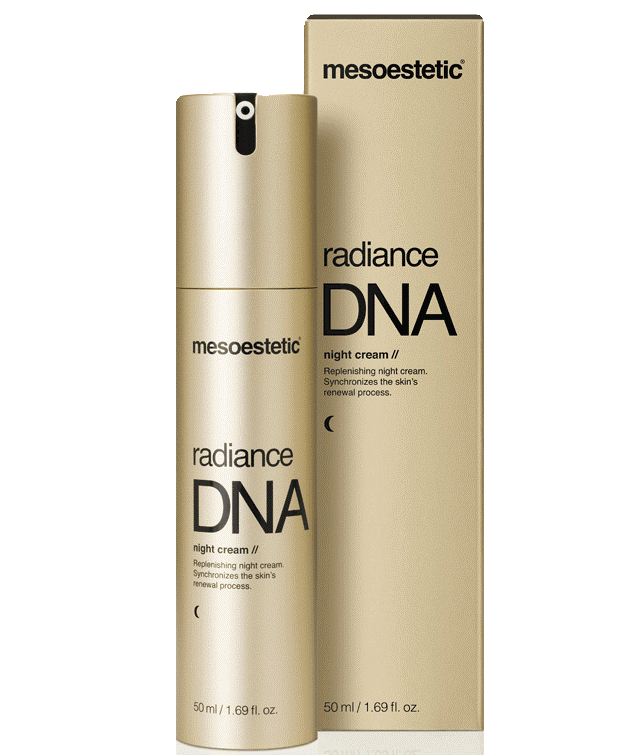 Mesoestetic Radiance DNA Night Cream 50ml – Kem chống lão hóa da ban đêm được yêu thích số 1 tại Tây Ban Nha