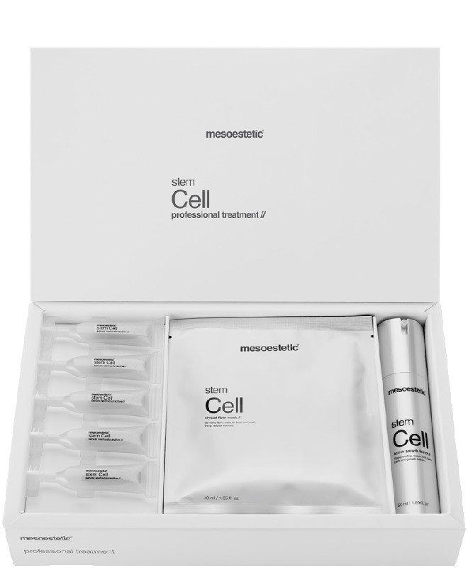 Bộ sản phẩm tế bào gốc trẻ hóa da Mesoestetic Stem Cell Professional Pack được ưa chuộng số 1 tại Tây Ban Nha