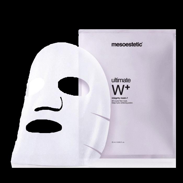 Mặt nạ dưỡng trắng da Mesoestetic Ultimate W+ Integrity Mask bán chạy số 1 tại Tây Ban Nha