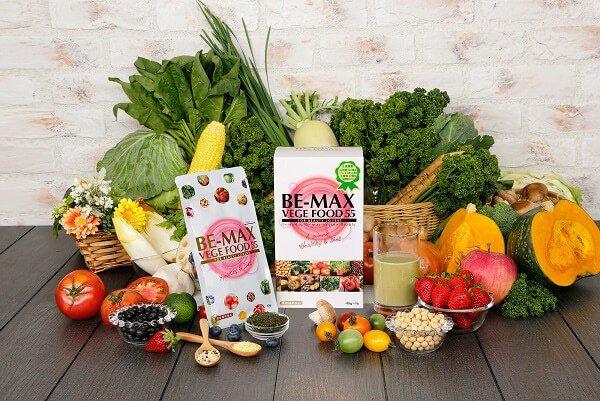 Bột rau củ quả hỗ trợ giảm cân, giữ dáng Be-Max Vege Food 55