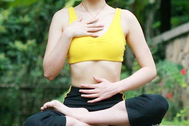Giảm mỡ bụng cực nhanh, dáng thon người khỏe nếu bạn biết thở đúng cách