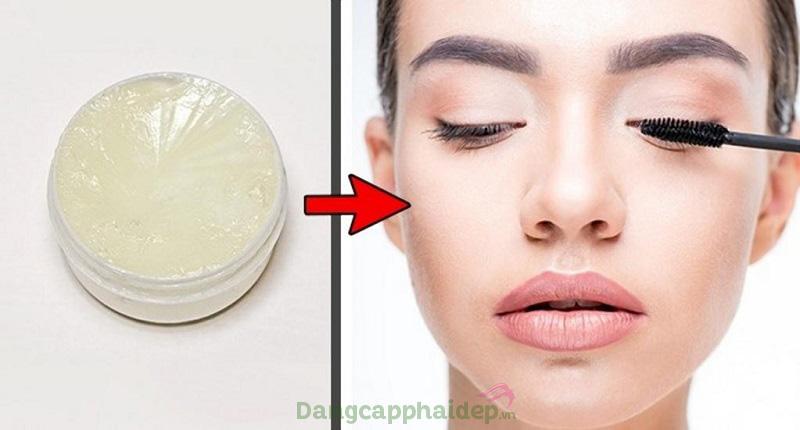 Cách làm dài lông mi bằng vaseline