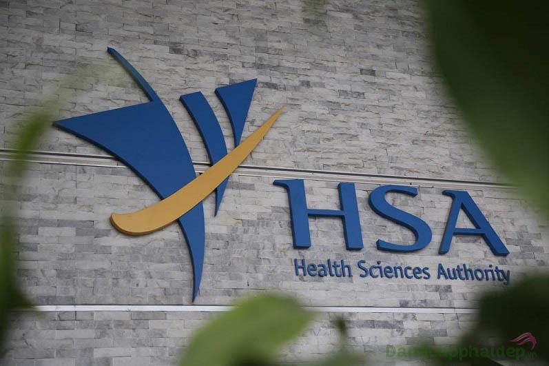 Health Sciences Authority - tổ chức nằm dưới sự quản lý của bộ Y Tế chính phủ Singapore