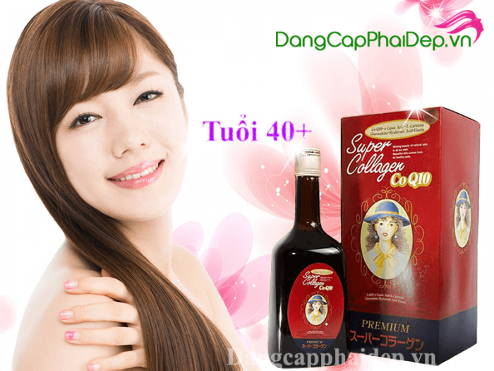 Nước uống collagen Nhật Bản Super Collagen CoQ10