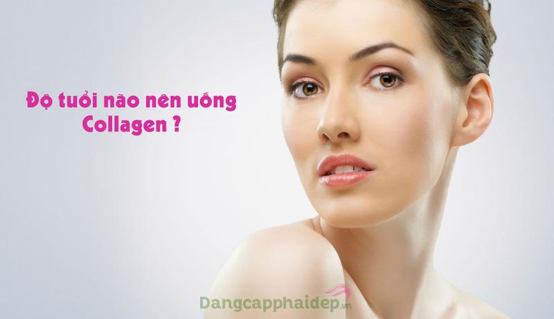 Tuổi 40 nên uống collagen loại nào
