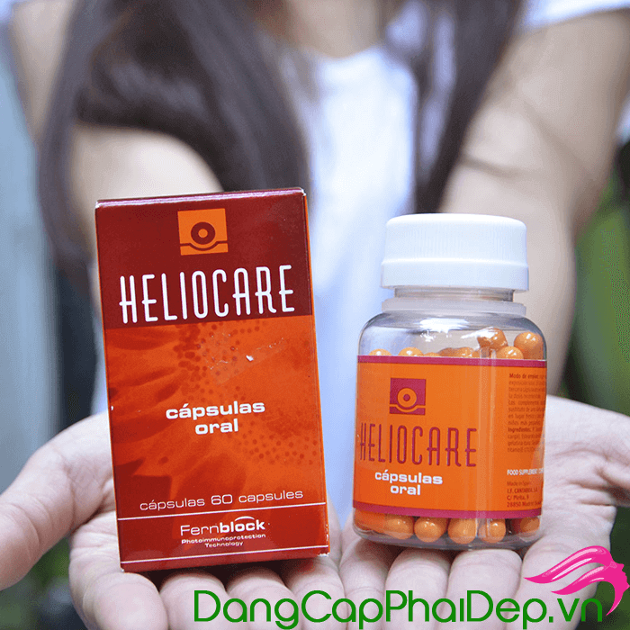 Viên uống chống nắng Heliocare Oral có tốt không?