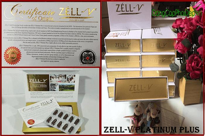 Nhau thai cừu Zell V 30000mg phù hợp cho nhiều đối tượng khác nhau sử dụng