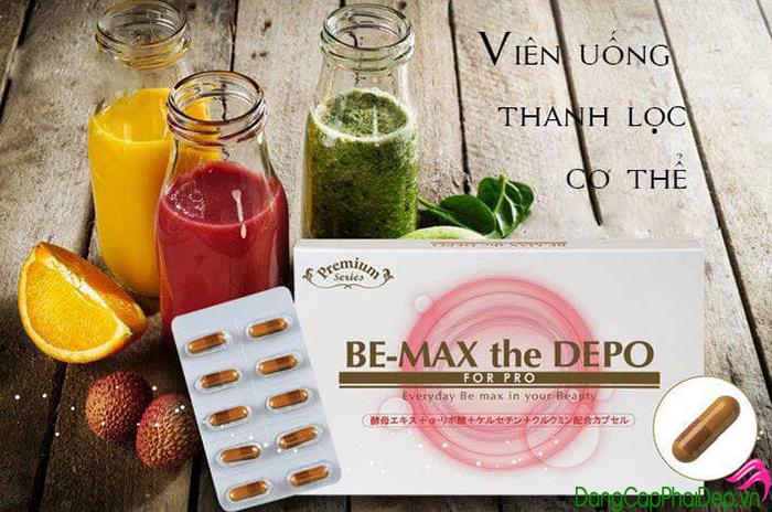 Viên uống thải độc cơ thể Be-Max Depo giá bao nhiêu