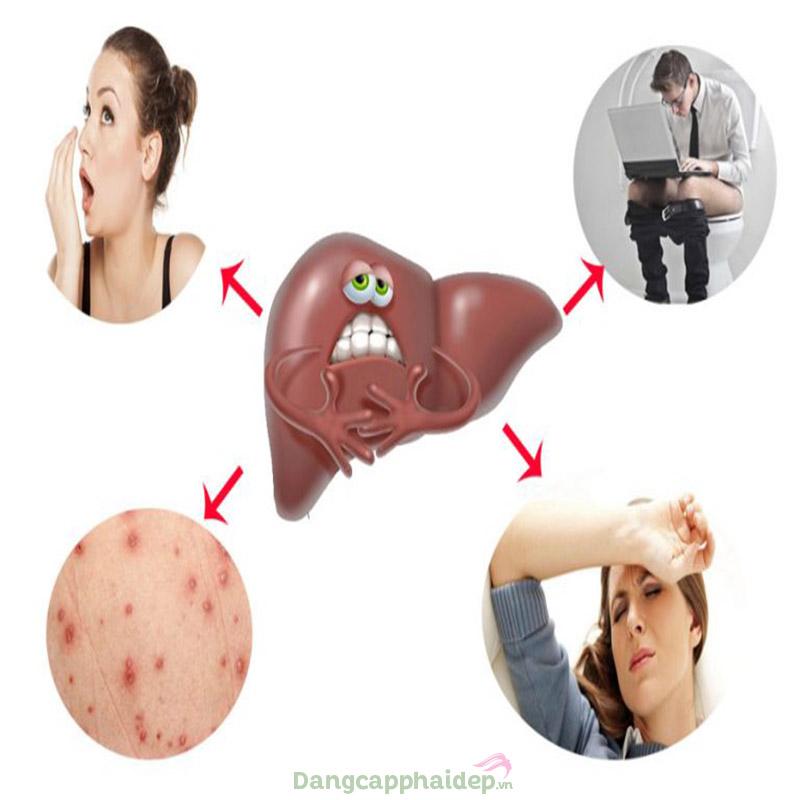Độc tố cơ thể khi không được thải ra ngoài gây ảnh hưởng không nhỏ đến làn da cũng như sức khỏe