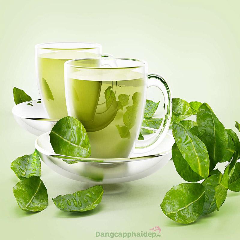 Hướng dẫn cách làm nước uống thải độc cơ thể từ trà xanh