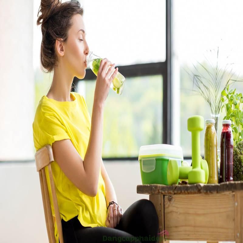 Hướng dẫn cách làm nước uống thải độc cơ thể
