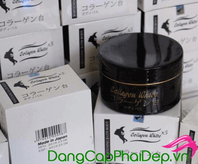 Kem ủ trắng Collagen White X5 Nhật Bản có tốt không?