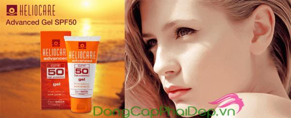 Gel chống nắng Heliocare SPF 50 nằm trong top kem chống nắng vật lí tốt nhất hiện nay