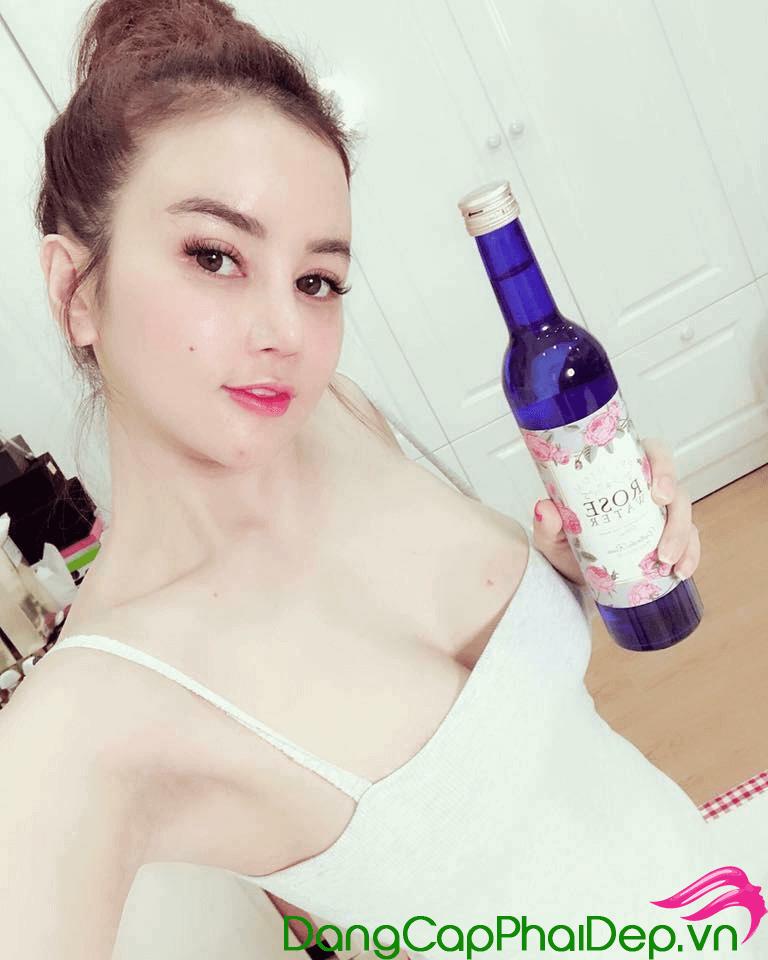 nước uống hoa hồng Rose Water