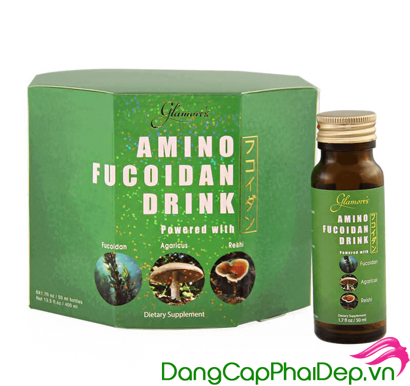 nước uống Nhật Bản Amino Fucoidan Drink