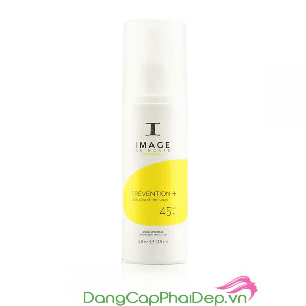 Kem chống nắng toàn thân Image Prevention+ Ultra Sheer Spray SPF45+