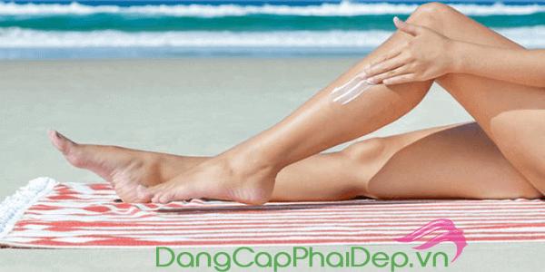 chọn kem chống nắng toàn thân phù hợp với đặc tính làn da