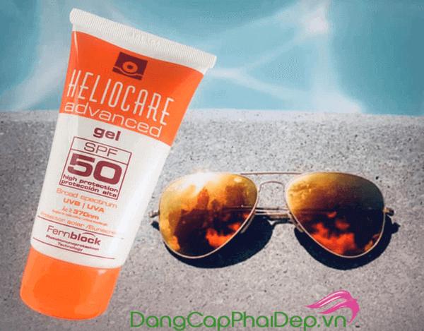Gel chống nắng Heliocare Advanced Gel SPF 50 dành cho da nhờn mụn
