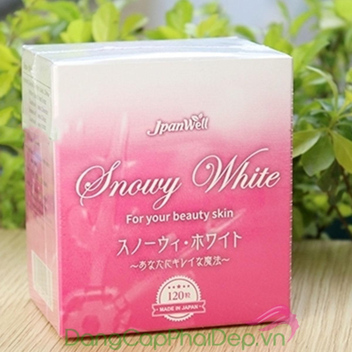 Viên uống trắng da tự nhiên - Snowy White Nhật Bản