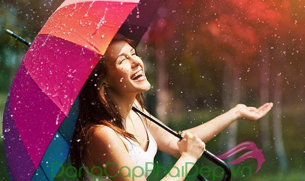 Chăm sóc da vào mùa mưa chuẩn nhất khi tuân thủ 5 bước dưỡng này