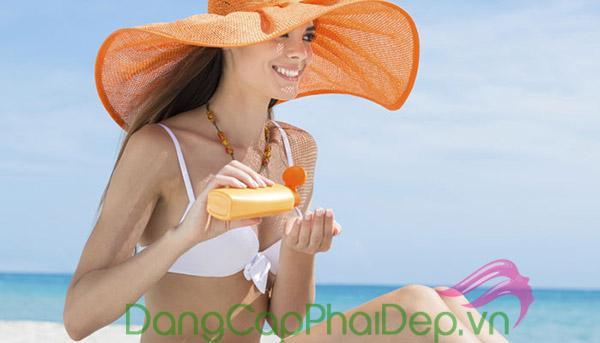 chỉ số SPF nằm trong khoảng 30 - 60 là tốt nhất khi chọn kem chống nắng