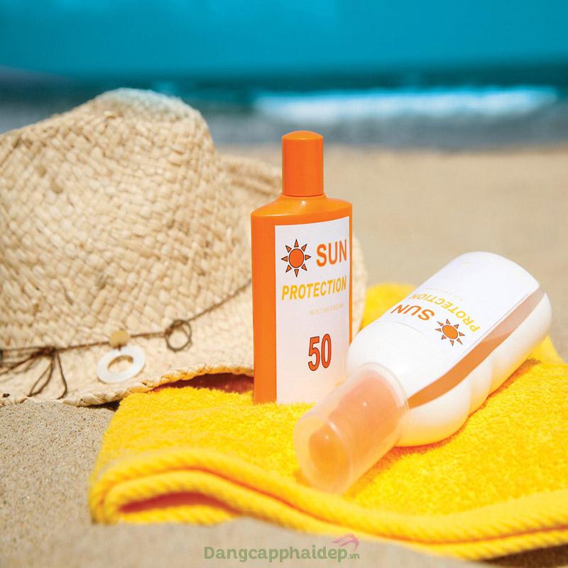 Chú ý đến chỉ số chống nắng SPF khi chọn kem chống nắng cho da dầu mụn