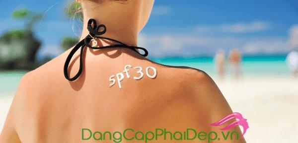 Chọn kem chống nắng cho da nhạy cảm có chỉ số SPF phù hợp