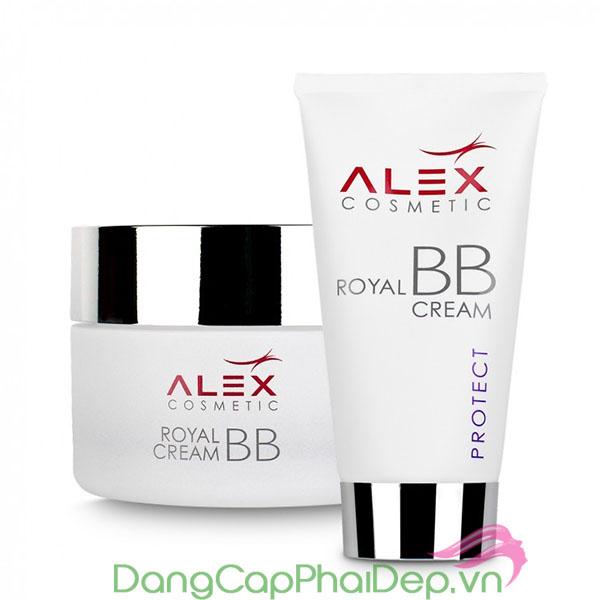 Kem chống nắng vật lý 3 trong 1 Alex Cosmetic Royal BB Cream