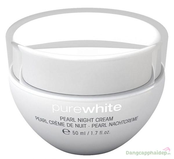 Kem dưỡng trắng ban đêm Purewhite Pearl Night Cream.